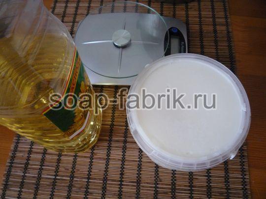 хозяйственное мыло с нуля