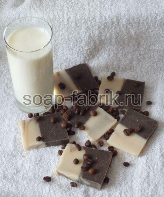 Молочное мыло
